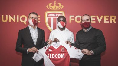 Photo de Officiel Krepin Diatta signe à Monaco