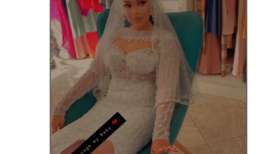 Photo de Voici les images exclusives du mariage de Soukeyna de la série Nafi (Photos) –